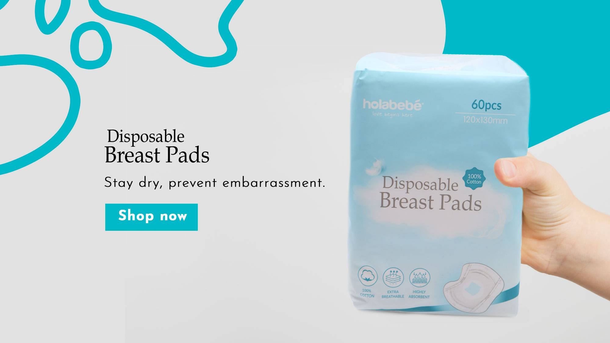 Holabebe Breast Pads