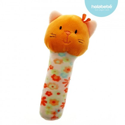 Holabebe Baby Squeaker Bar Toys - Kitty