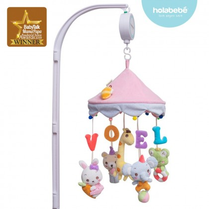Holabebe Musical Mobile Toys For Baby Crib and Playpen - Love