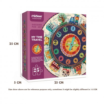 Early Education Clock Puzzle